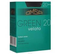 Green 20 (4, caramello) Тонкие матовые колготки плотностью 20 ден, с шортиками, усиленным мыском и комфортным широким поясом.