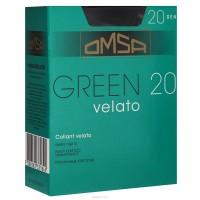 Green 20 (4, beige tropicale) Тонкие матовые колготки плотностью 20 ден, с шортиками, усиленным мыском и комфортным широким поясом.